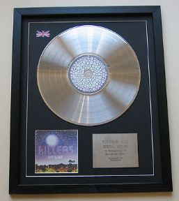 The Killers Day Amp Age Cd Platinum Lp Disc